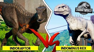 Indoraptor Level Max 40! Super Dinossauro Vs Híbridos