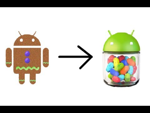 Upgrade from Android 2.3 to 4.1 (Gingerbread to Jelly Bean) Samsung Infuse 4G