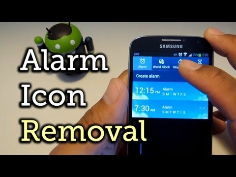 Stop the Alarm Icon from Showing Up Too Early in Your Status Bar - Samsung Galaxy S4 [How-To]