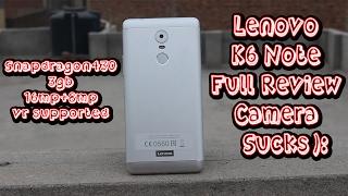 Review Lenovo K6 Note k53a48 unboxing - PakVim net HD Vdieos Portal