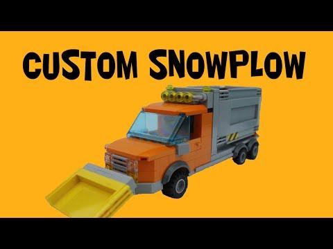 Custom Lego Snowplow