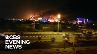 U.S. accuses Iran of launching drone strikes against Saudi Arabian oil plant
