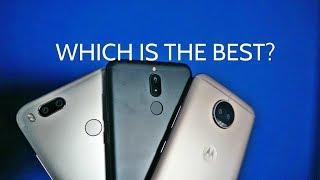 Honor 9i vs Moto G5S Plus vs Xiaomi Mi A1 Comparison
