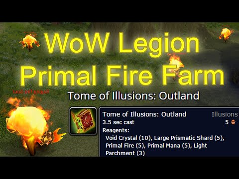 WoW Primal Fire Farm - Where to farm Primal Fire [World of Warcraft Gold Guide / WoW Gold Guide]