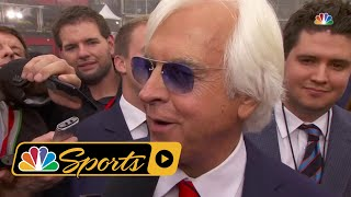 Bob Baffert knows Justify has work to do after Preakness Stakes I NBC Sports