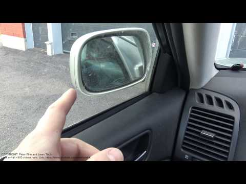 Wind noise in car door?  Small hole can be in side mirror. Look
