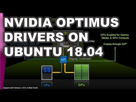 Install Nvidia Optimus drivers on Ubuntu 18.04 with prime-select