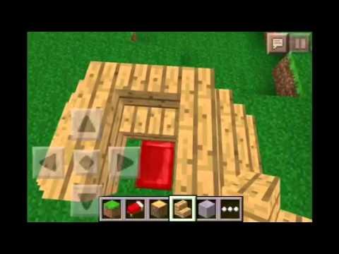 Minecraft PE : How To Build A Campsite