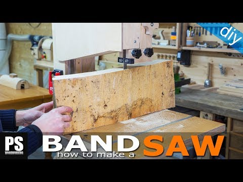 Plywood Band Saw Tips / Set Up