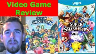 Video Game Review - Super Smash Bros WiiU