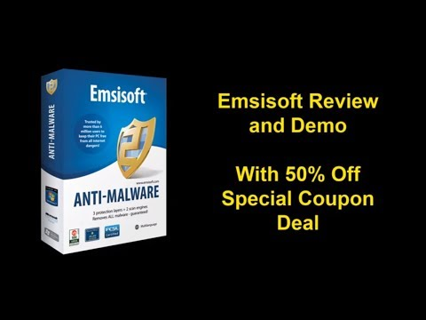 No fluff Review of Emsisoft Anti Malware - 50% Off Discount Tips