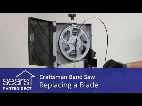How to Replace a Craftsman Band Saw Blade
