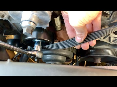 Chevrolet 350 Belt Tensioner and Pulley Replacement