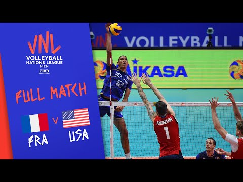 Xxx Mp4 France V USA Full Match Semi Final Men 39 S VNL 2018 3gp Sex