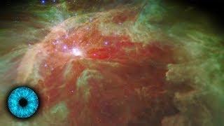 Spektakulärer Flug durch den Orionnebel - Clixoom Science & Fiction