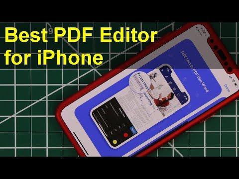 BestFreePDFEditorAppforiPhone: Scan,Read,Edit,Sign,&ConvertPDFFiles!