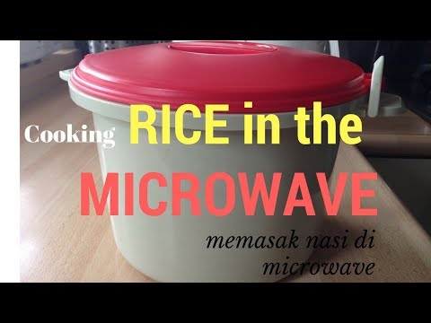 How to cook rice with the MICROWAVE