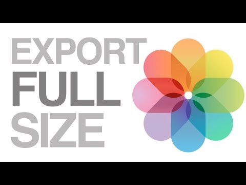How to Properly Export Full Size Videos , Max quality max resolution from PHOTOS mac