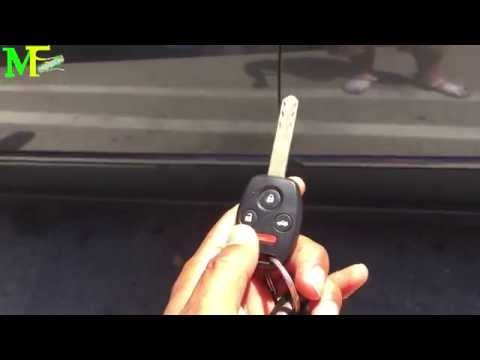 How to Set Up A New Key Remote To Your Car. (Lost Or Stolen Remote) Cool Window Trick