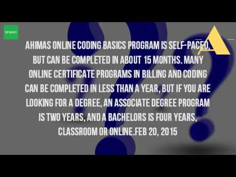How Long Does It Take To Get A Certificate In Medical Billing And Coding?