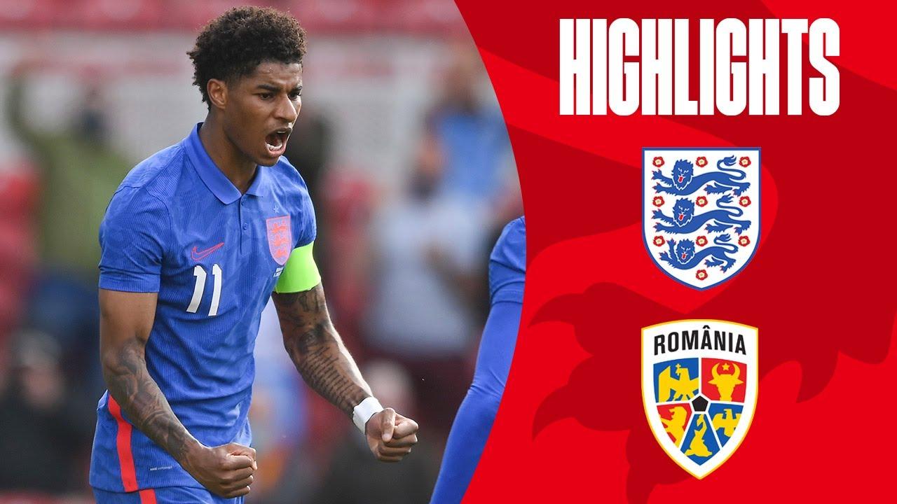 Rashford Guides Three Lions To Win Ahead Of EURO 2020 | England 1-0 Romania | Highlights
