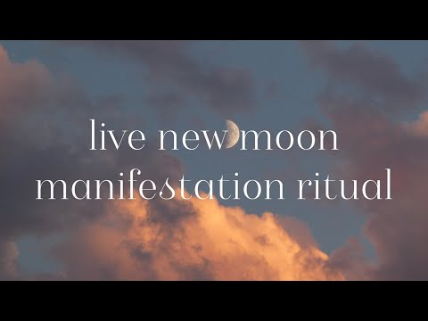 LIVE May New Moon Manifesting Ritual