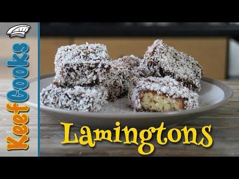 Lamingtons - Australia's Favourite Cake - Sponge, Coconut, Chocolate