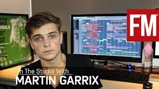Martin Garrix In The Studio explaining how he created his UK number one and platinum selling club smash, Animals using Image-Line
