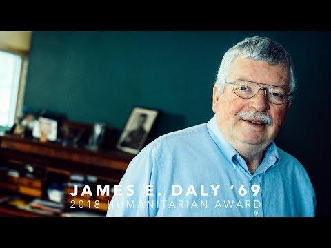 2018 Humanitarian Award - James E. Daly '69