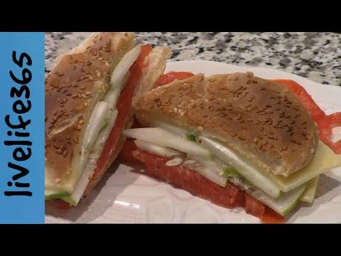How to...Make a Killer Tomato,  Cucumber & Cheese Sandwich
