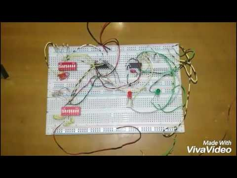 Password security system by using logic gate