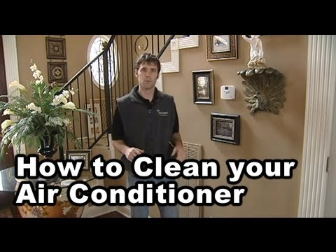 How to Clean An Air Conditioner Unit