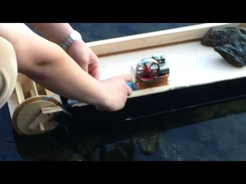 Home built Steam Boat 1.0