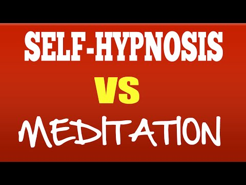 Difference Between Hypnosis and Meditation [watch the video]