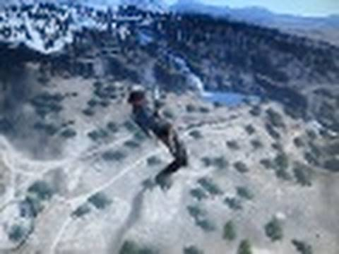 Red Dead Redemption Glitch: Free Fall / Sky Diving / Fly