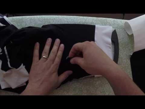 Iron Mend - Patch Repair on Cycling Bib Shorts