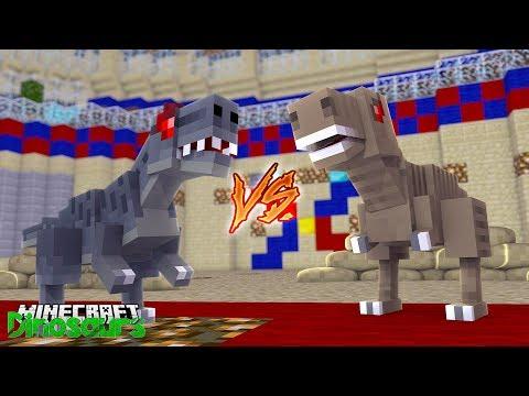 WHO IS THE BEST DINOSAUR?! - Minecraft Dinosaurs w/ Little Lizard