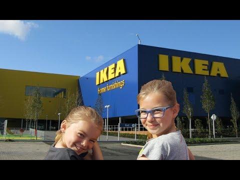 IKEA With Visit in IKEA Dublin Kids have fun in IKEA Furniture Store