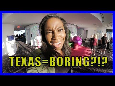 IS TEXAS BORING?? (Dallas Vlog)