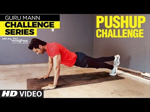 Week 4 - PUSH UP CHALLENGE l Guru Mann Challenge Series