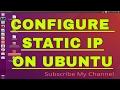 How to  add static/Public IP on Ubuntu 16.04,17.10,12.04 in GUI mode