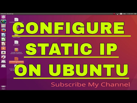 How to  add static/Public IP on Ubuntu 16.04,17.10,12.04 in GUI mode
