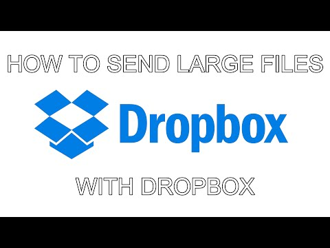 Send Large Files With Dropbox