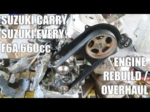 Suzuki Carry/Every/Scrum F6A Engine Rebuild