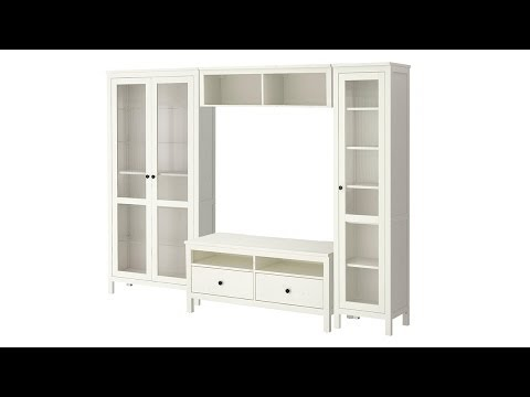 Converting Ikea Hemnes TV Bench and adding LED Lighting to Glass Cupboards