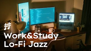 Work & Study Lofi Jazz - Relaxing Smooth Background Jazz Music for Work, Study, Focus, Coding