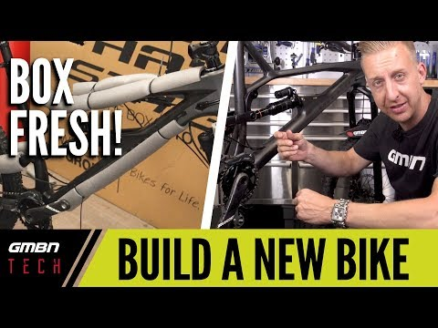 Set Up A New Bike From The Box | GMBN Tech How To