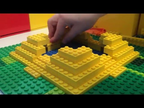 Lego Mayan Temple Projects: Part 2