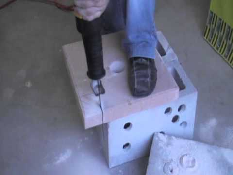 Tungsten Carbide Reciprocating blades cutting concrete