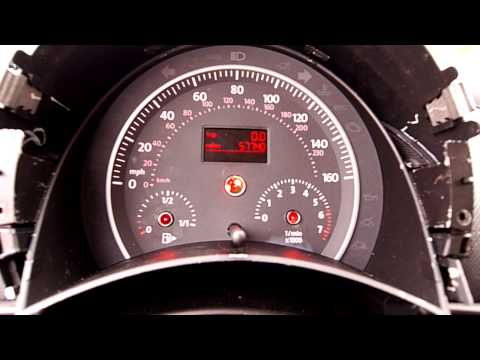 2008 Beetle: Re-Install Instrument Cluster